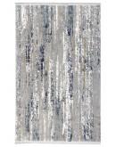 Mavi Beyaz Geçişli Modern Desenli Akrilik Halı