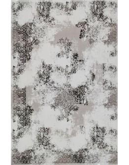 Kahverengi Dekoratif Desenli Yumuşak Dokulu  Modern Halı
