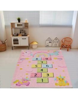 Çocuk Odası Sek Sek Oyun Desenli  Kilim