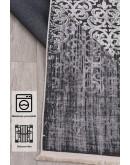 Pamuk Dokuma Tabanlı Makinede Yıkanabilen Dekoratif  Kilim